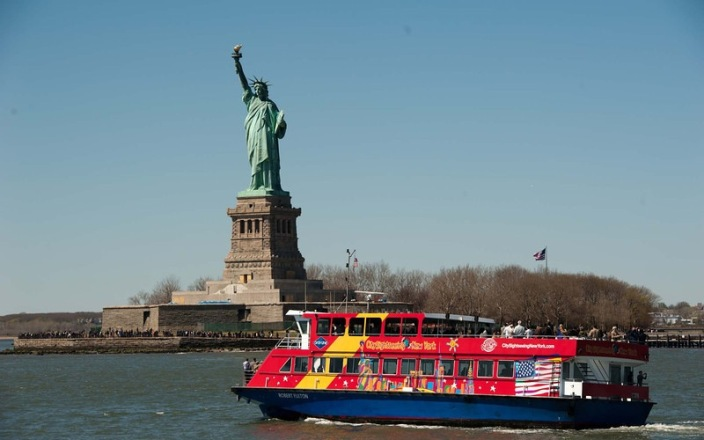New your city sightseeing bus